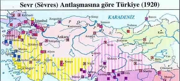 serv anlasmasina gore turkiyenin durumu haritasi