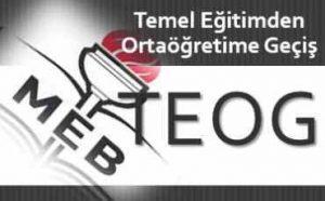 TEOG Sınav Konuları
