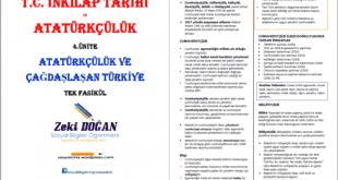 ataturkculuk ve cagdaslasan turkiye