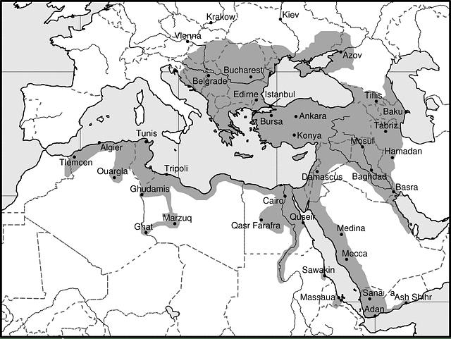 osmanli haritasi