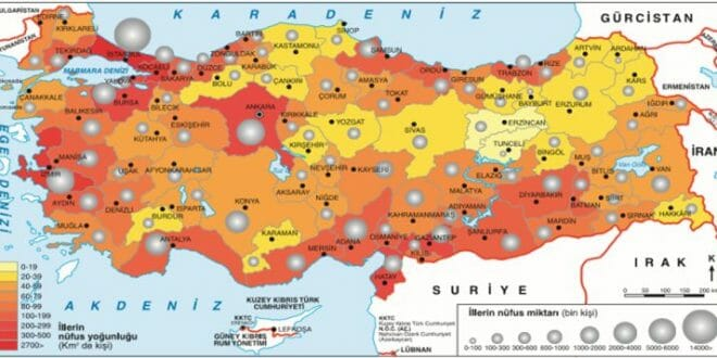 7.Sınıf Sosyal Bilgiler Ülkemiz Nüfus, Göç